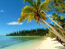 nieuw caledonie strand